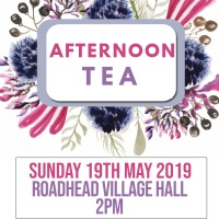Afternoon tea @ Roadhead village hall