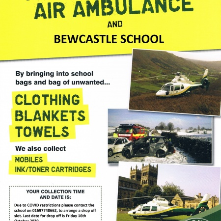 Air ambulance collection